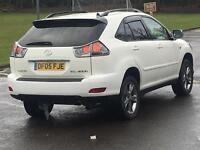 RARE WHITE LWB LEXUS RX 400 HYBRID FULLY LOADED FULL LEXUS HISTORY RX RX400 RX400H 300