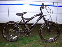 "Muddyfox Boys Front Suspension Mountain bike 20"" wheels fully serviced ready to go tidy bike"