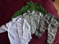 Baby boy clothes 12-18 months £8