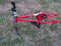 kids flite bmx style bike frame