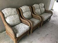 High quality Wicker rattan furniture cost over £600 new