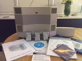 Bose acoustic wave music system ll And 5 Cd Changer With Bose DAB Module
