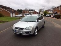 Ford Focus Titanium 2.0TDCI Silver 2006/06, Full Service History New Cambelt £895