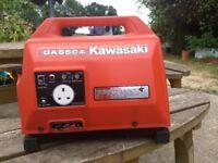 Generator Kawasaki suitcase , Caravan/camping