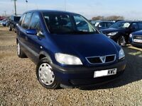 54 PLATE VAUXHALL ZAFIRA 1.6 PETROL 7 SEATER 92'000 MILES VOSA HIST HPI CLEAR CALL 07754038020