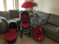 ICandy Strawberry Travel System in very good condition.