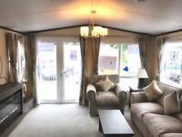 HIGH END STATIC CARAVAN SITED AT CHERRY TREE HOLIDAY PARK NR GORLESTON GREAT YARMOUTH NORFOLK
