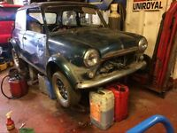 Mini 12.75 for spares ,