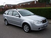 2010 CHEVROLET LACETTI , 1.8 FULL AUTOMATIC, 49000 MILES , FULL SERVICE HISTORY , 2 KEYS , A/C