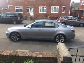 BMW 5 series 54 plate