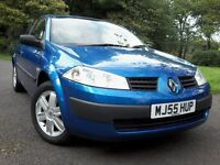 Sporty Renault Megan 1.4 Shiny Blue 42 MPG Mot Dec 16 Low Mileag Cd Player Alloys low tax & Insuranc