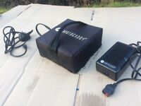 Motocaddy battery and charger