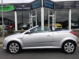 VAUXHALL TIGRA 1.3 CDTi 16V Sport Rouge 2dr [AC] (silver) 2009