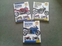 Motorbike Haynes Workshop Manuals.