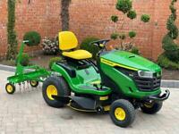 """John Deere X127 Ride on mower - 42"""" deck - lawnmower - Honda / Kubota / Toro"""