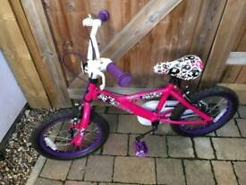 Girls bike brand savage 14""