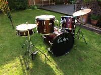 Red 'Boston' Drum Kit