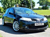 LOW MILES! RENAULT MEGANE SPORT 225 RENAULTSPORT -FULL LEATHER -ALLOYS - 2 KEYS -MAIN DEALER SERVICE