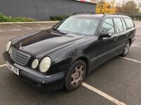 Automatic 7 seater MOT till May 2018 Mercedes E class 2.6 petrol