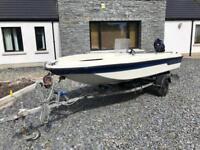 Skeeter 435 dory boat 4 stroke