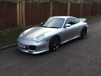 PORSCHE 911 C4S 2003 (53), TURBO BODY, GT AREO KIT, GREAT SPEC, RARE