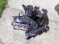 Unisex CCM rollerblades / inline skates UK size 5.5 / 38.5
