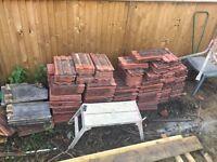 Reclaimed roof tile redland