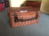 Luxury Hamper PERFECT to make your own gift hamper. Comes with brown paper filling.