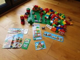 LEGO DUPLO Assorted Sets, Including Toy Story 3, Plus Large Green Baseplate, Instructions and Box