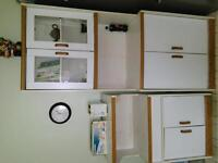 2 nice displaying cabinets for sale