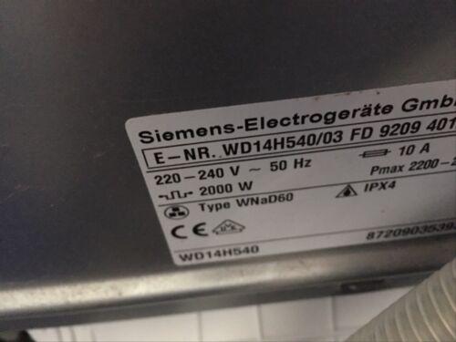 Siemens waschtrockner iq wd h ersatzteile in hessen