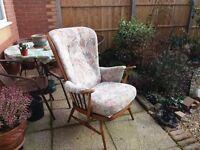 Genuine Ercol fireside chair