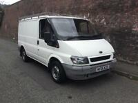 2006/06 FORD TRANSIT T260 SWB 12 MONTHS M.O.T ROOF RACK GOOD MILEAGE HPI CLEAR NO VAT !!!