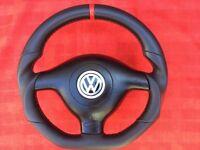 VW GOLF PASSAT LEON BORA GTI GT R-LINE SPORTLINE NEW CUSTOM MADE STEERING WHEEL