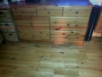 a chest drawers + wardrobes + 3 recliner armchairs urgently trying to find a home