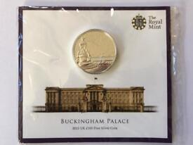 Buckingham Palace £100 Fine Silver Coin - Royal Mint UK 2015