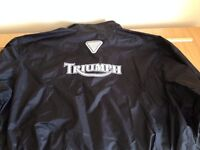Triumph Waterproof Over Jacket Size XL