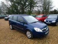 2008 Vauxhall Zafira Life 1.6 8 Months MOT 1 Former Keeper 7 Seater 2 Keys