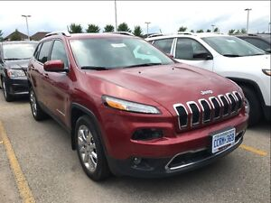 2017 Jeep Cherokee *LIMITED*SAFETY TEC*NAVIGATION* ONLY 421 KMS