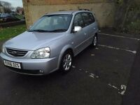 Kia Carens 2.0 Turbo Diesel 56 Reg 88k Full Leather