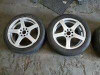 4x100 / 4x108 16 inch Wheels and tyres suit corsa fiesta xsara