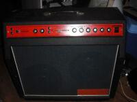Simms Watts Pro combo 60-100 fane speaker driver amp guitar amplifier trem drive