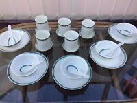5 piece chinese meal set. Burlington china