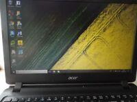 Acer Aspire ES 15.6 Inch AMD E1 4GB 1Tb Laptop - Black