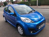 2014 Peugeot 107 1.0 Active 5Dr Low Mileage fsh 12 months mot Tax free £0 VERY cheap2INSURE(C1 Aygo