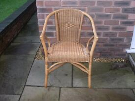 An adults' cane chair.