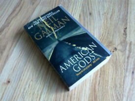 """American Gods"" by Neil Gaiman, paperback – read once"