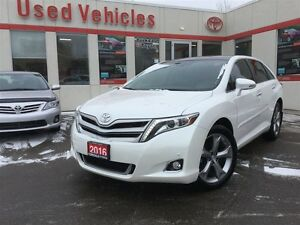 2016 Toyota Venza Limited, Navi, Leather, AWD, P