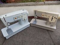 Singer Zig Zag sewing machines x 2 Not in working order Being Sold for Spares