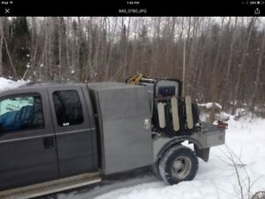 Welding rig 2003 Ford 350 dullay